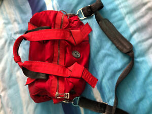 LULULEMON red gym style bag. Barely used. Great condition.