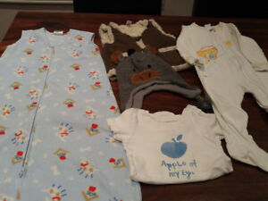 Baby clothing 0-12 months for boy/unisex items