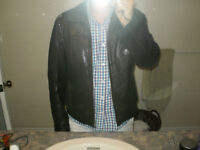 Large Lamb Leather Winter  Jacket