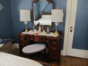 5 piece Antique Bedroom suite for sale