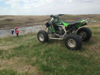 Kawasaki KFX 450, Racing Quad