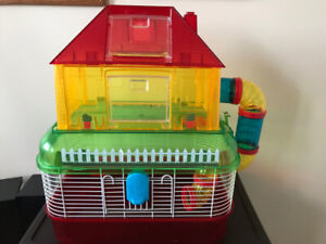 $5 *SLIGHTLY USED* Tiny Tales Apartment Hamster Cage $5