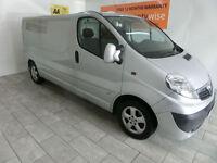 2013,Vauxhall/Opel Vivaro 2.0CDTi ( 115BHP ) ( EU V ) Sportive 2900 LWB