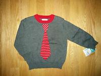 Brand new tie sweater size 18M
