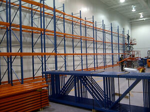 Pallet racking dealer -Used Liquidator - Centre d'Entrepot