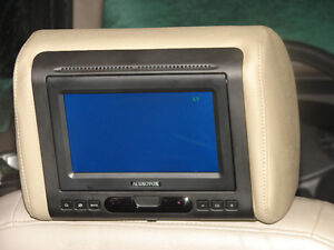 2 Audiovox 7'' car headrest monitor