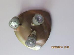 LUMIÈRES -PLAFONNIERS ensemble de 2 ou 3 lumières