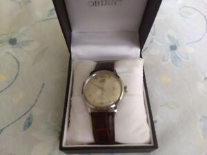 Orient bambino Small seconds hand watch.
