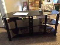 """Ever Style Glass 48"""" TV Stand"""