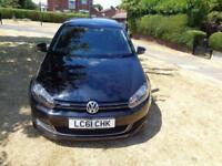 2010 Volkswagen Golf 1.6TDI ( 105ps ) Tech BLUEMOTION [1 LADY OWNER+CAMBELT+FSH]