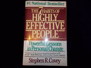 7 Habits of Highly Effective People-2 copies available London Ontario image 1