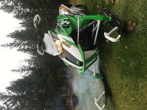 "2013 ARCTIC CAT HCR 800 153"" LOW KMS"