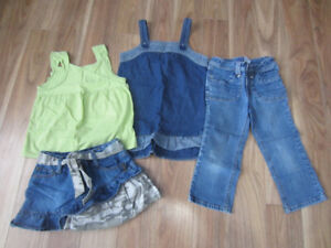 GIRLS SUMMER CLOTHES - SIZE 7 - $12.00 for Lot (4 ITEMS)