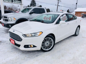 2014 Ford Fusion SE AWD  LOADED! LEATHER! SUNROOF! NAVIGATION!