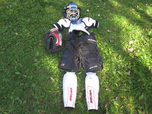 Équipement de hockey pour enfant