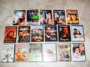 DVD's various movies $2.00 each