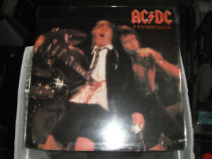 AC/DC, If You Want Blood. LP EX. Used.
