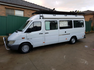 Mercedes Sprinter Motorhome LWB and High Roof with only 74000 kms