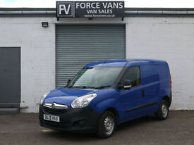 VAUXHALL COMBO 2000 1.3CDTi DELIVERY PANEL TOOL COURIER LOGISTICS WORK VAN
