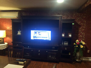 4 pieces TV stand cabinet