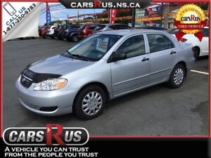 2008 Toyota Corolla CE NO TAX SALE on vehicles priced under $10,