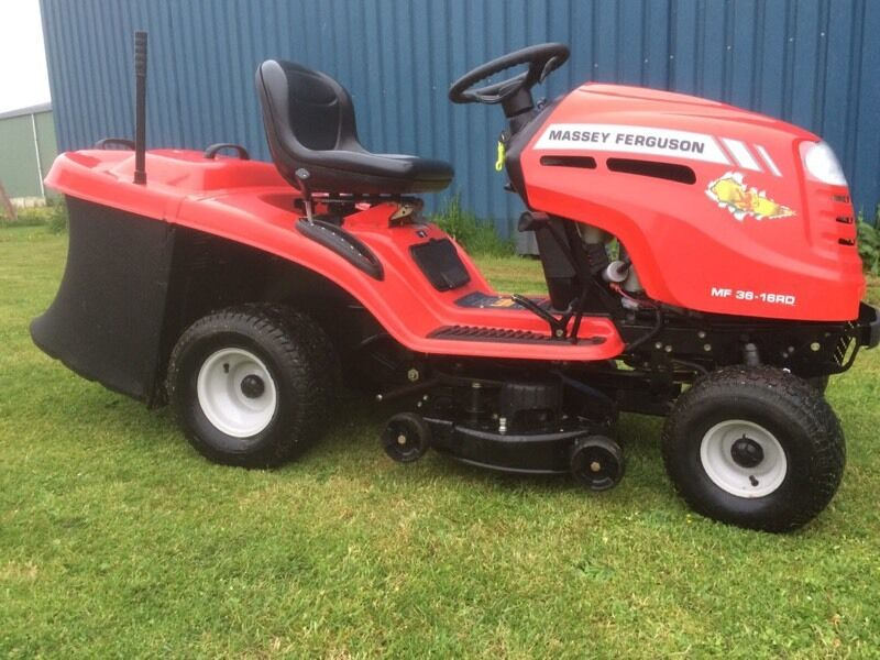 Massey Ferguson Yard Tractors : Massey ferguson lawn tractor ride on mower lawnmower sit