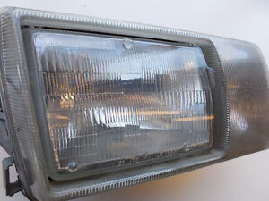 Mercedes 300SDL 560SEL 1986-1991 Headlight Right 1268201059