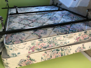 Great Shape - Box Spring/Mattress and Frame