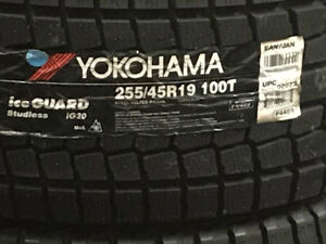 255/45r19 235/55R19 YOKOHAMA WINTER  BLOW OUT