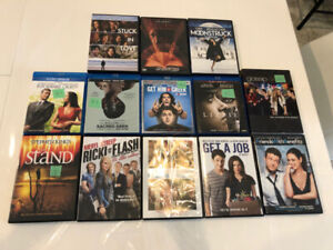 BLU-RAYS AND DVDS**ALL FOR $10