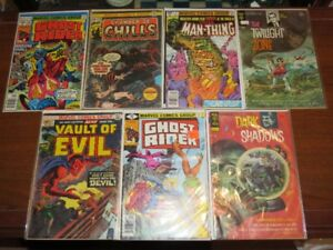 Vintage Horror Comic Book Collection Lot