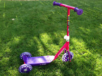 Girls's scooter