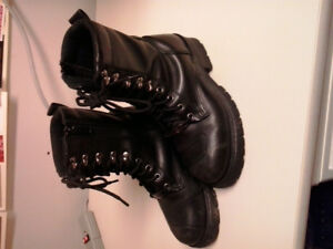 Ladies Motorcycle Boots - Size 8