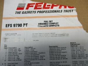 Ford 4.6L gasket set.