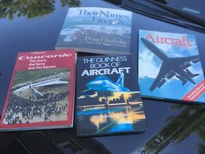 Aviation Aircraft WW2 Vintage Books Concorde