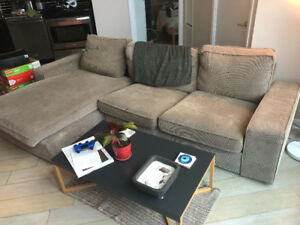 IKEA Kivik sectional sofa