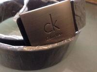 CK Mens belt £15