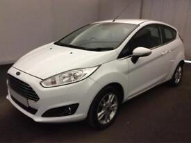 Ford Fiesta 1.0, 1.2, 1.4, EcoB Zetec Titanium WHITE, 3dr FROM £25 PER WEEK!