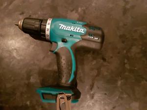Brand new Makita 18 volt lithium drill.