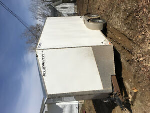 """2015 stealth trailer 12' long 7' wide 78"""" high"""