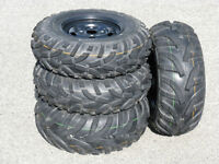 New Set of ATV Tires and Wheels