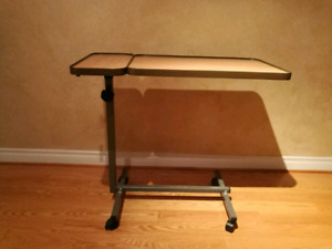 Over Bed table with tilt