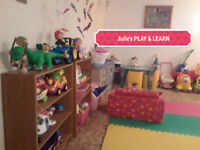 PLAY & LEARN HOME DAYCARE $ 36 per day