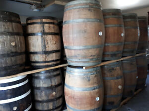 LOOK > 360 x Bourbon Whiskey Barrels & Wine Barrels & Planters