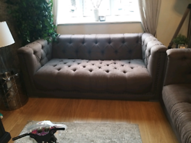 3 seater and 4 seater DFS sofas