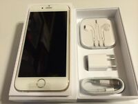 Gold iPhone 6 16gb in Rogers