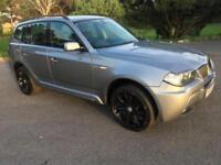 2008 08 BMW X3 2.0 D M SPORT 5D AUTO 175 BHP DIESEL
