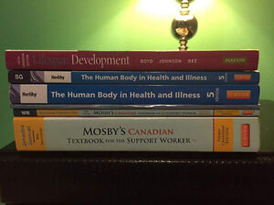 PERSONAL SUPPORT WORKER TEXTBOOKS BRAND NEW