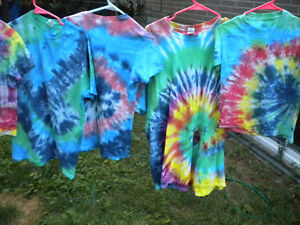 Tie-Dye T-Shirts All sizes