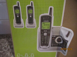 V-Tech 5.8GHz 3 Handset Cordless Phone Sys & Answering Machine